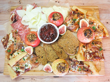 Italian Fall Flavors Snack Board