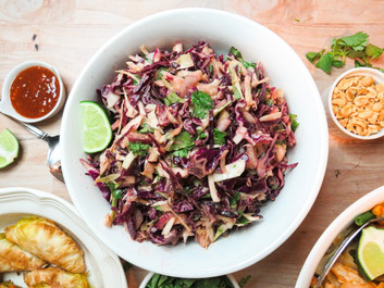 Thai-Style Cabbage Slaw