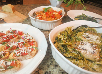 Quick & Delicious Italian Summer Dinner Party