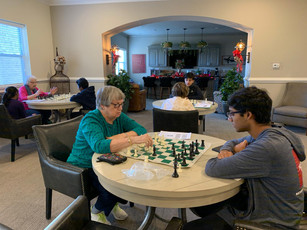 Chess Sessions @ The Mansions at Alpharetta - Senior Independent Living