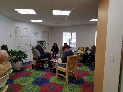 February sessions at Annandale Village, Bethesda Senior Center and Delmar gardens