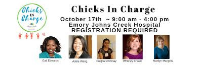 Chicks in Charge on Oct 17