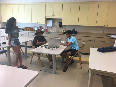 Summer session at Bethesda Senior Center
