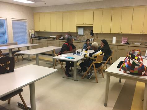 First chess session for 2019- Bethesda senior center-Jan 14th, 2019