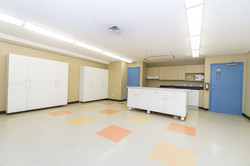 Kitchen/party room/snack area in the basement