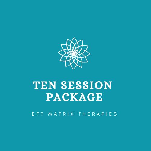10 x EFT & Matrix Reimprinting Sessions