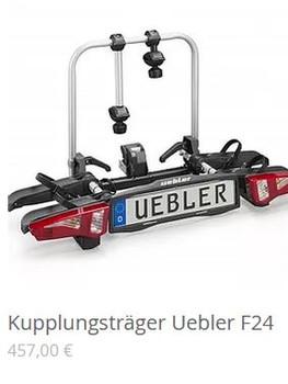 Kupplungsträger Uebler F24