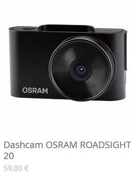 Dashcam OSRAM ROADSIGHT 20