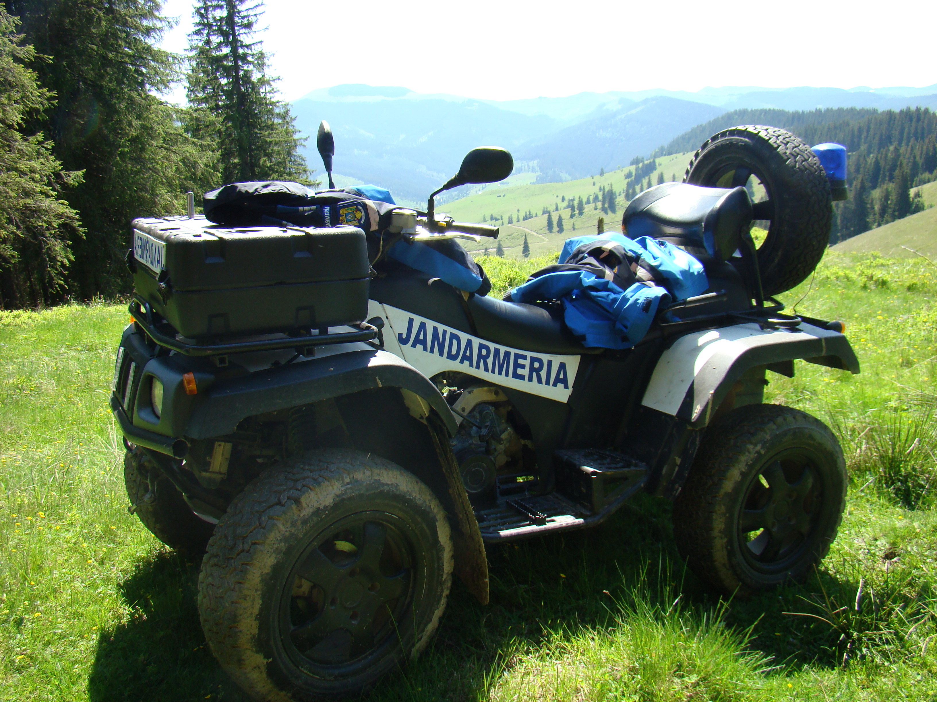 Mountain Rescue ATV