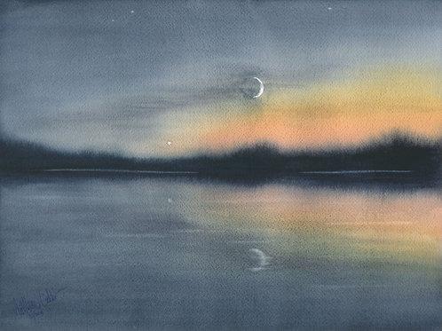 Moonrise in Algonquin (Prints only)