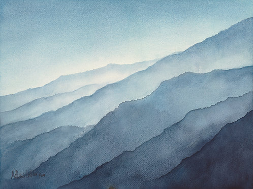 Misty Mountains (prints only)