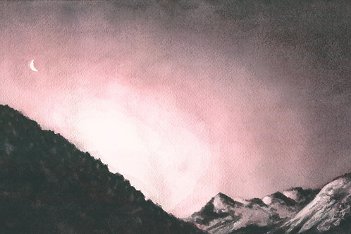 Purple Mountains Majesty (Prints Only)