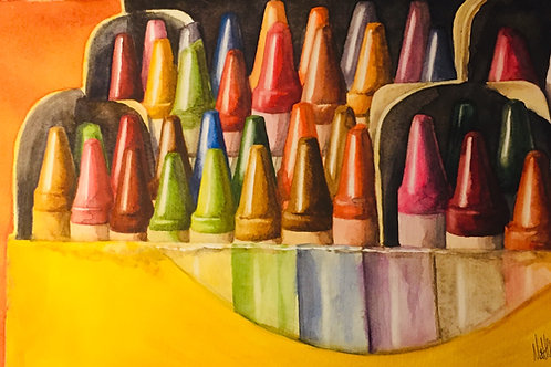 Box of Crayons (prints only)