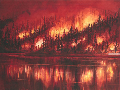 Forest Fire (Prints Only)