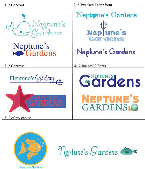 REDO neptune's gardens logos liebler mat