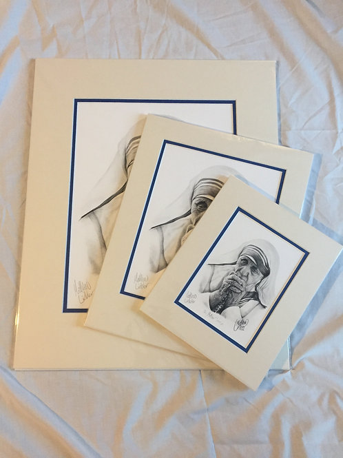 Large Mother Teresa Print Bundle