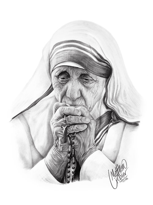 St. Mother Teresa (prints only)