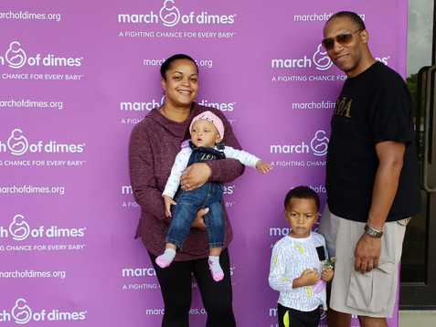Robertson Family supporting March for Babies