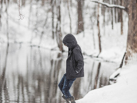 Snow Day   Family Photography   Muscatine, Iowa