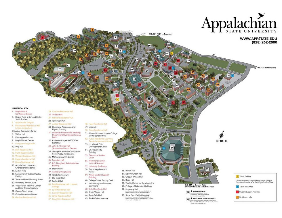 Appolcorpswelcome Campus Map