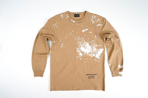 Atelier Paint Splatter Long Sleeve Tee