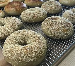 Sourdough Bagel -Sesame