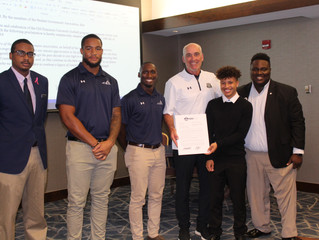 ODU Football Team Recognition