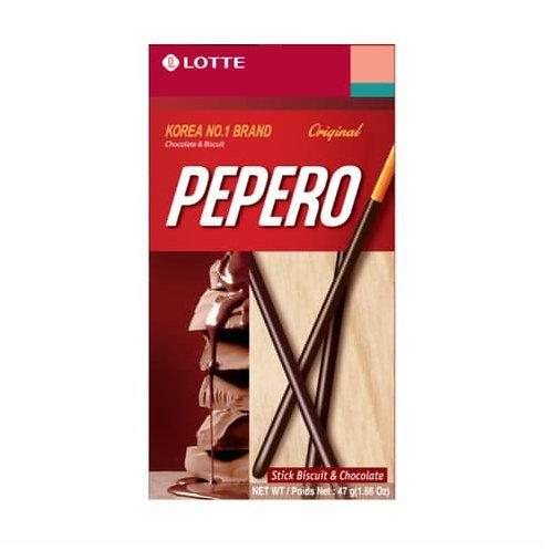 47 g | 롯데 | 빼빼로 오리지날 초코 | Pepero Original Chocolate