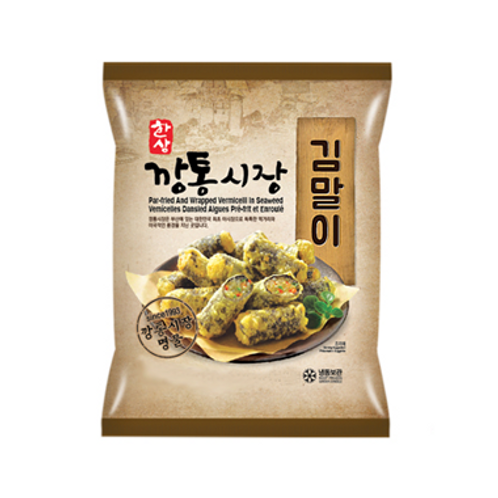 1kg 깡통시장 김말이/ Par-Fried And Wrapped Seaweed Roll