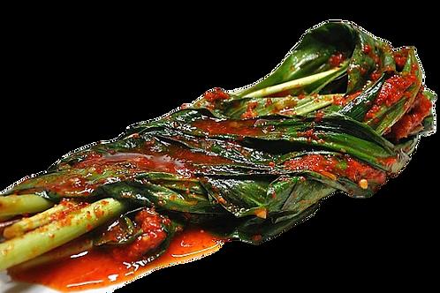 명이나물 김치 Seasonal Wild Garlic Kimchi