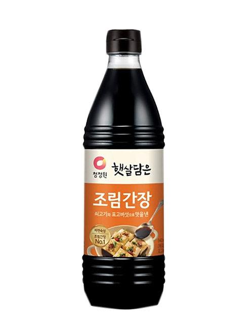 840ml 청정원 조림 간장/Soy Sauce Jolim  Brewed