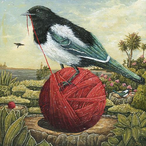 "Nesting Season (8"" x 8"" Print)"