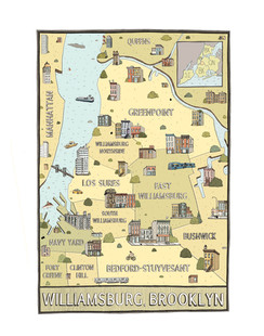 Map of Williamsburg