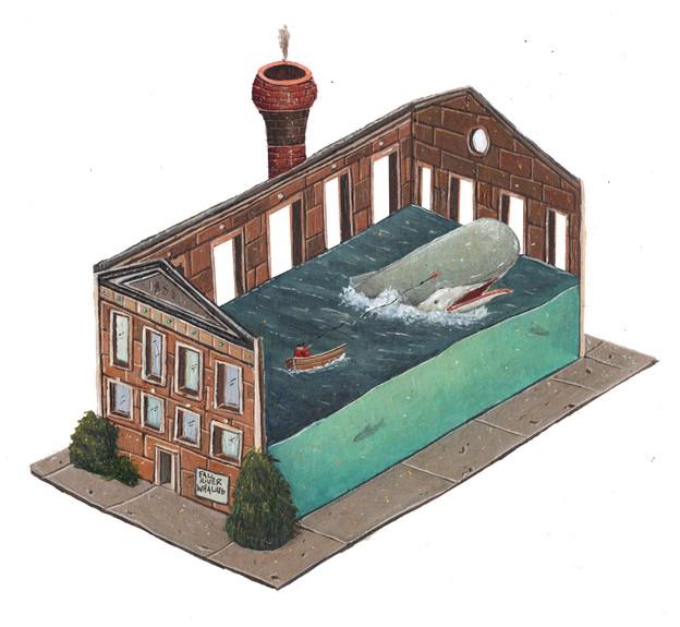 Indoor Whaling Factory