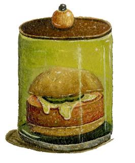 Pickled Bologna Sandwich