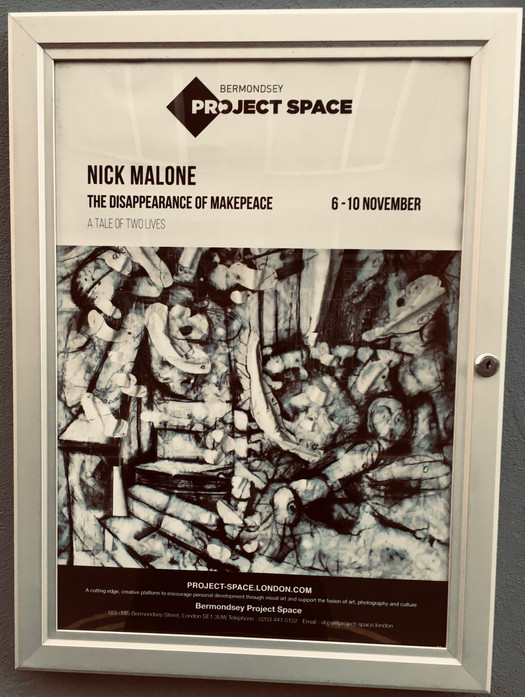 Bermondsey Project Space - Poster