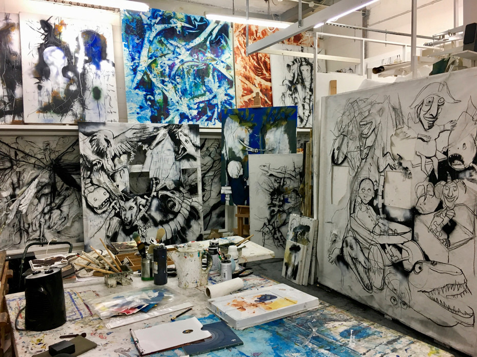 Studio Installation III