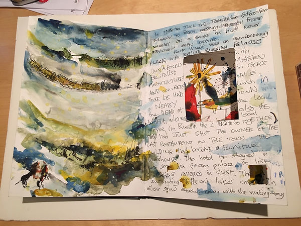 The Disappearace of Makepeace Sketchbook