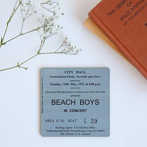 The Beach Boys City Hall Coaster
