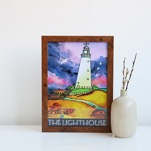 The Lighthouse A4 unframed print