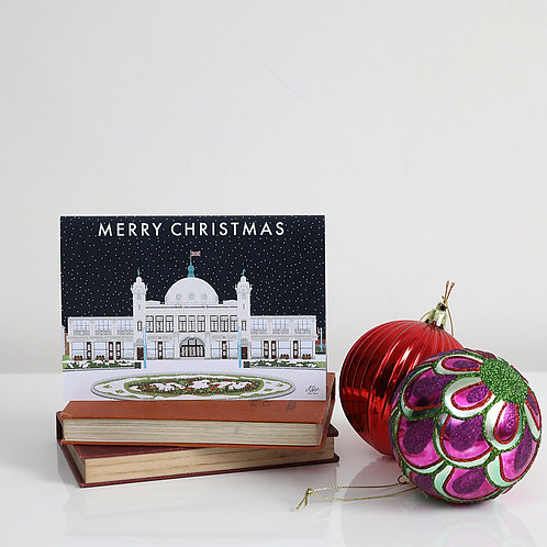 Christmas at Spanish City card