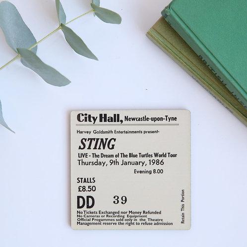 Sting City Hall Coaster
