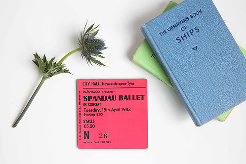 Spandau Ballet City Hall Coaster