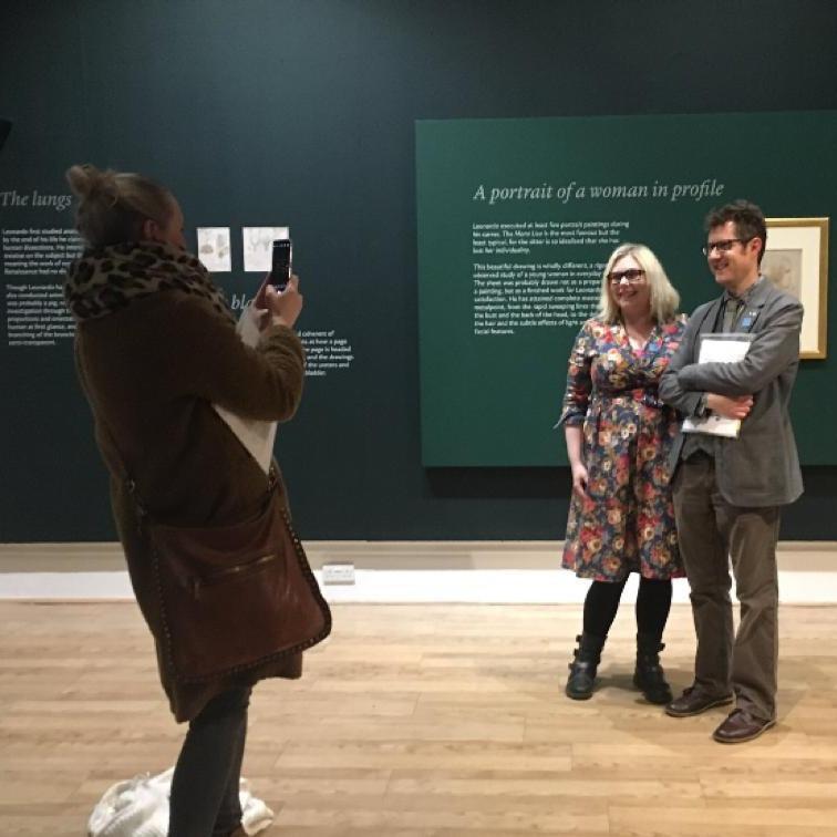 Leonardo da Vinci: A Life in Drawing #sunderlandleo #leanardo500 Sunderland Culture, Sunderland Museum and Winter Gardens hosts Leonardo da Vinci exhibition