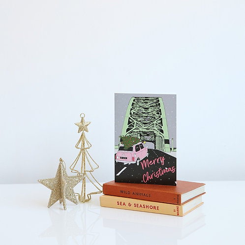 Coming Home for Christmas card