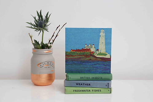 St Mary's Lighthouse, Whitley Bay card