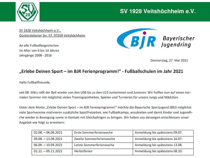 SVV-300-03 Bekanntmachung Fußballschulen