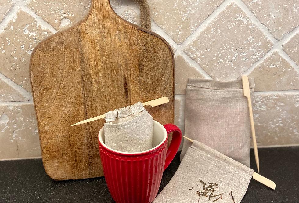 Teebeutel wieder verwendbar Größe2