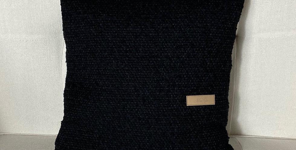 Zierpolster 80% Wolle 20% Polyamid (dunkel)