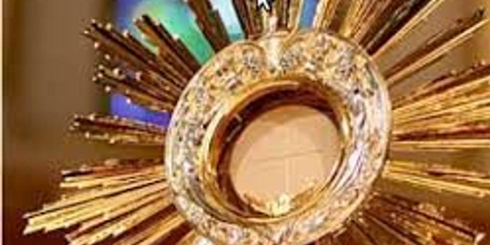 Forty Hour Devotion | 40 godzinne  Nabożeństwo